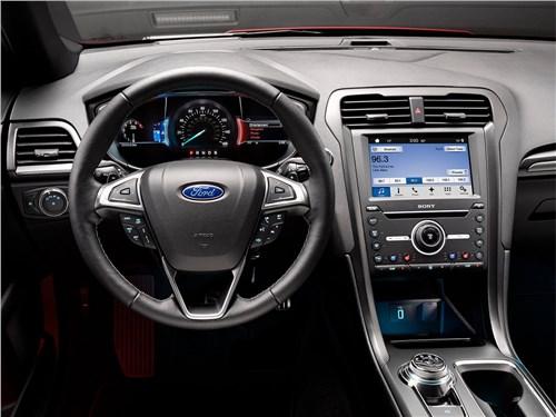 Предпросмотр ford fusion 2016 водительское место