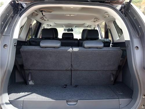 Mitsubishi Pajero Sport 2016 багажное отделение