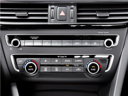 Kia Optima 2016 центральная консоль