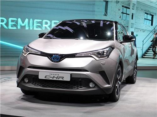 Toyota C-HR (хэтчбек 5-дв.)
