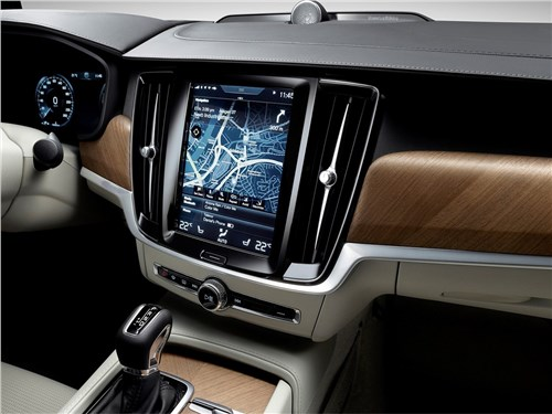 Предпросмотр volvo v90 estate 2017 монитор компьютера