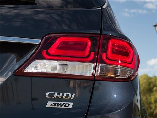 Hyundai Grand Santa Fe 2016 задний фонарь