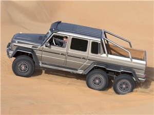 Новость про Mercedes-Benz G-Class AMG - Mercedes-Benz G 63 AMG 6x6