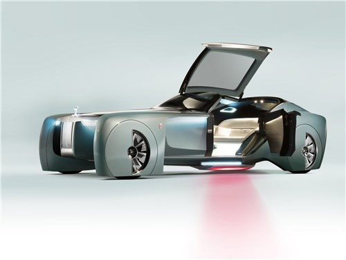 Предпросмотр rolls-royce vision next 100 concept 2016 вид сбоку