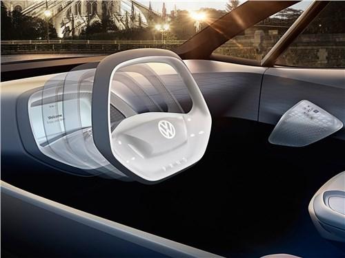 Предпросмотр volkswagen i.d. concept 2016 салон