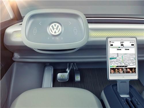 Предпросмотр volkswagen id buzz concept 2017 водительское место