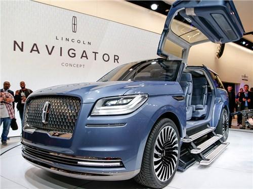 Новость про Lincoln Navigator - Lincoln Navigator Concept
