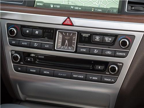 Hyundai Genesis 2017 центральная консоль