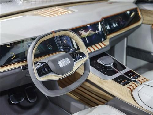 Предпросмотр jeep yuntu concept 2017 водительское место