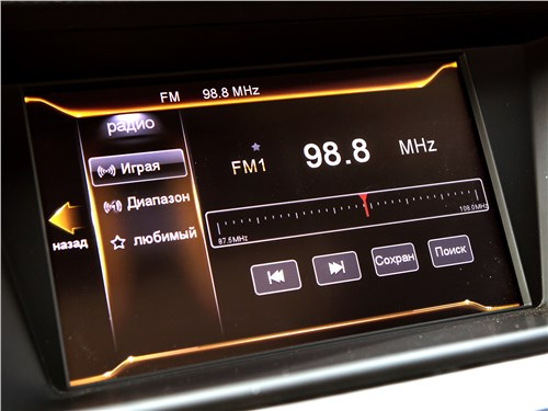 Geely Emgrand GT 2017 монитор