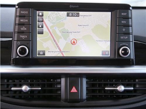 Kia Picanto GT Line 2017 монитор