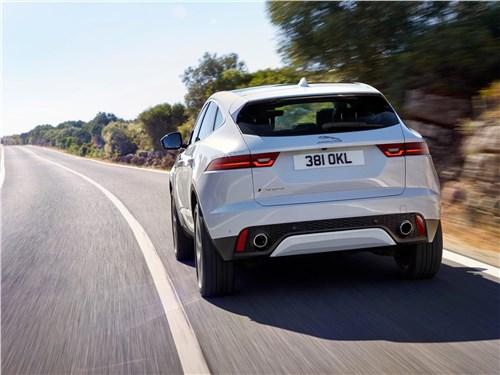 Предпросмотр jaguar e-pace 2018 вид сзади