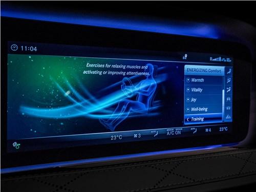 Mercedes-Benz S-Class 2018 монитор