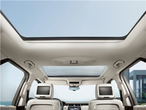 Land Rover Discovery 2017 панорамная крыша