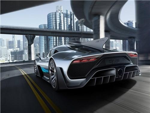 Предпросмотр mercedes-benz amg project one concept 2017 вид сзади