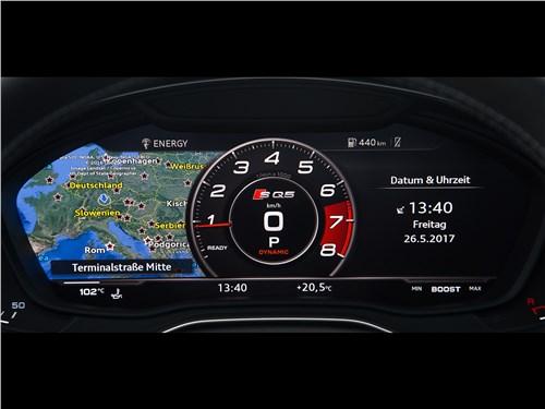 Audi SQ5 3.0 TFSI 2018 приборная панель