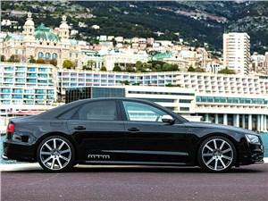MTM / Audi S8 вид сбоку