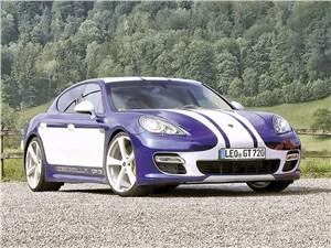 Gemballa / Porsche Panamera Turbo вид спереди
