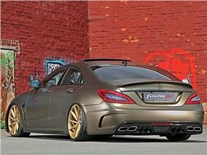 Fostla / Mercedes-Benz CLS вид сзади