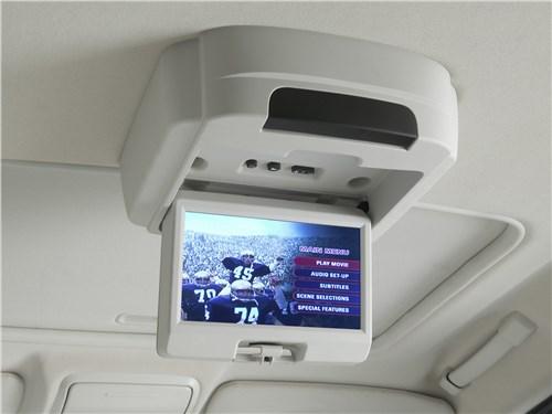 Предпросмотр chrysler pacifica 2007 дисплей для пассажиров