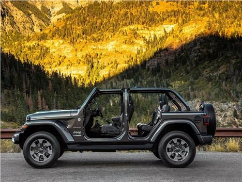 Предпросмотр jeep wrangler unlimited 2018 вид сбоку