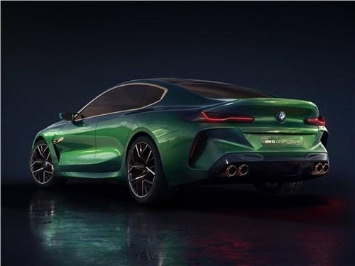 Предпросмотр bmw m8 gran coupe concept 2018 вид сзади
