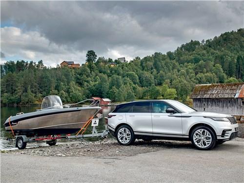 Как и другие представители компании Range Rover Velar умеет многое