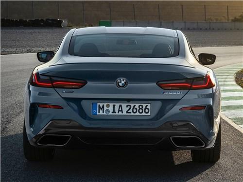 Предпросмотр bmw 8-series coupe 2019 вид сзади