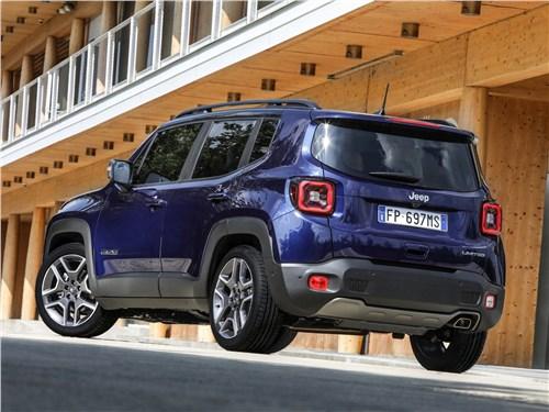 Предпросмотр jeep renegade 2019 вид сзади