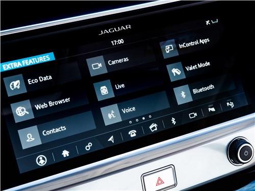 Jaguar I-Pace 2019 центральная консоль