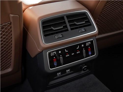 Audi A6 2019 климат для пассажиров