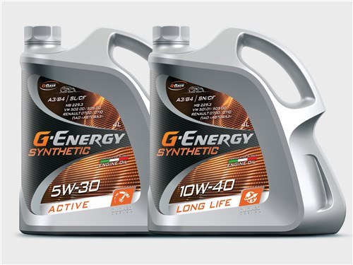 G-Energy Synthetic Active 5W-30; G-Energy Synthetic Long Life 10W-40
