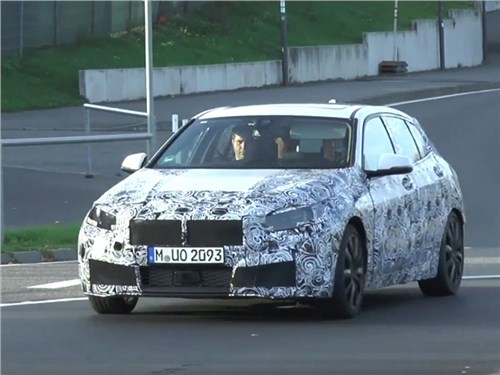 Новость про BMW 1 series - Шпионы «словили» немецкую единичку