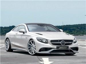 Voltage Design / Mercedes-Benz S 63 Coupe вид спереди
