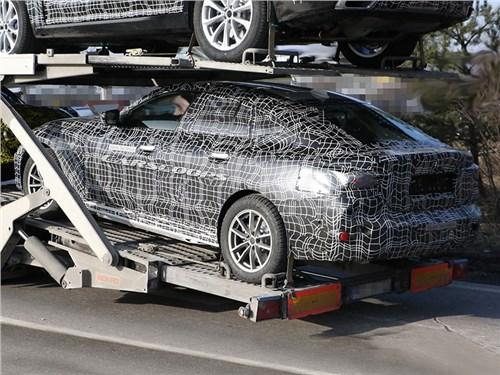 Новость про BMW - Шпионам попался электрический BMW