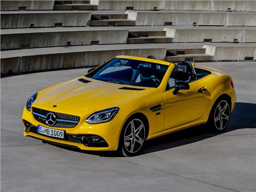 Новость про Mercedes-Benz SLC - Mercedes-Benz SLC Final Edition 2019