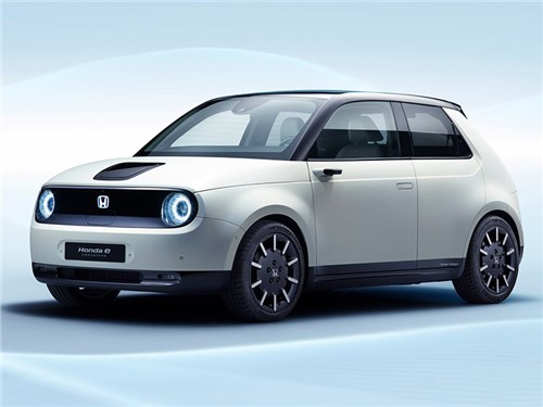 Новость про Honda - Honda e Concept 2019
