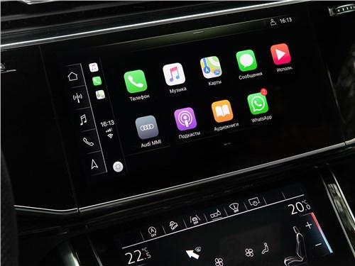 Audi Q8 2019 монитор