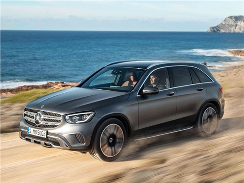 Новость про Mercedes-Benz GLC - Mercedes-Benz GLC 2020