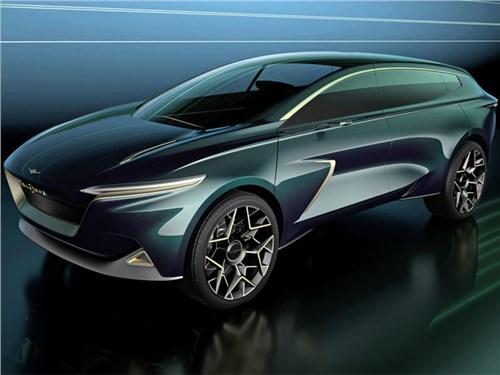 Aston Martin создал свой первый электрический кроссовер