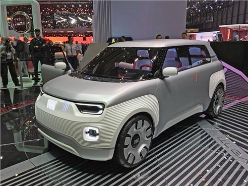 Новость про Fiat - FIAT Centoventi концепт 2019