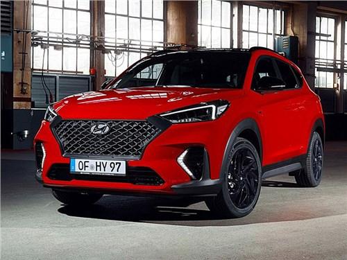 Hyundai представил спортивную версию кроссовера Tucson