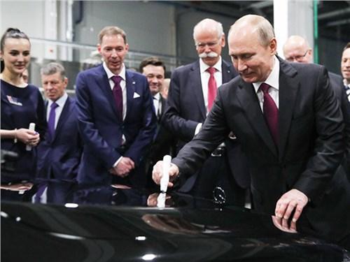 Новость про Mercedes-Benz - Mercedes начал производить легковые автомобили на заводе в Подмосковье