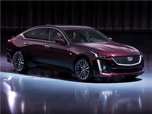 Cadillac раскрыл все подробности про седан CT5
