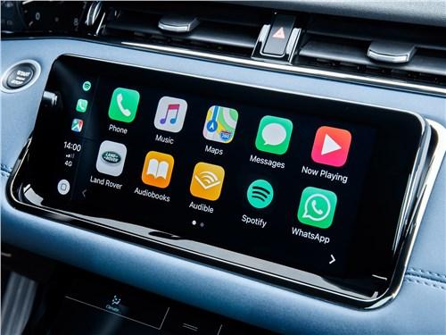 Land Rover Range Rover Evoque 2020 центральная консоль