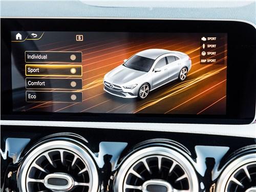 Предпросмотр mercedes-benz cla 2020 монитор