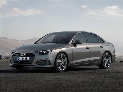 Audi представила обновленное семейство модели A4