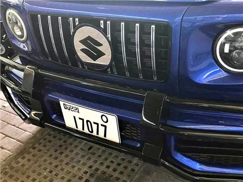 Suzuki Jimny переделали в Mercedes-AMG G 63