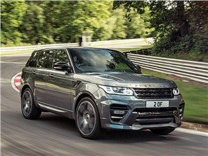 Mansory / Range Rover вид спереди