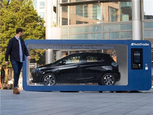 Новость про Renault Zoe - На улице Лондона появится автомат по продаже машин